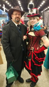 Harley Quinn and her Puddin' at Nickel City Comic Con