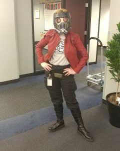 Cross cosplay Star-Lord